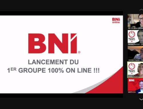 Le BNI lance le 1er groupe 100% ONLINE