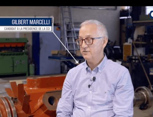 Découvrez Gilbert Marcelli, chef de file de la liste «Entreprendre avec vous»