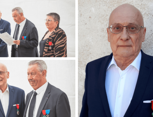 Le Président de l'UP-MEDEF 84, Jacques Bres, décoré de la Légion d'honneur